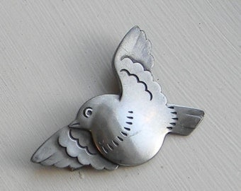Georg Jensen Sterling Silver Brooch number 320 Denmark