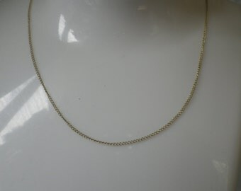 Beautiful 9ct Yellow Gold Link Necklace Chain