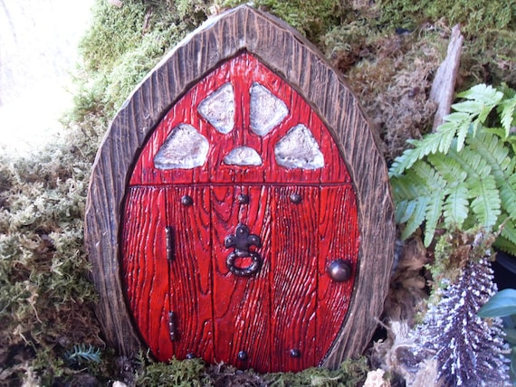 Large fairy door gnome door elf door pirate by for Large gnome doors