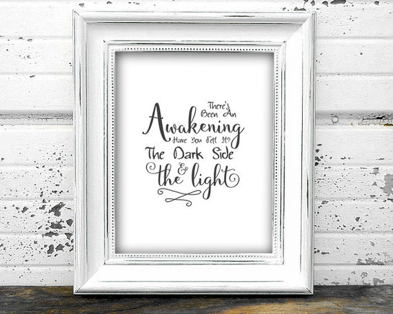 star wars inspirational quote printable the by