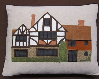 Your home replicated on a cushion