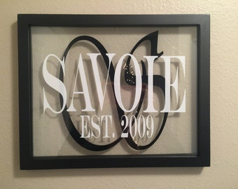 Family Name Frame 11 X 14