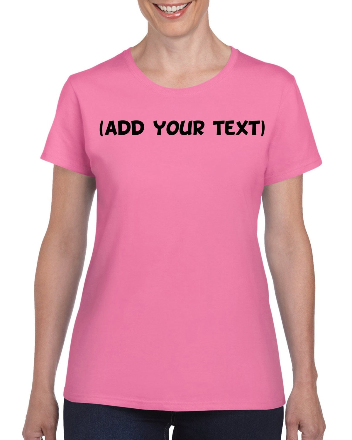 personalized t shirt add your own text custom by toastertees