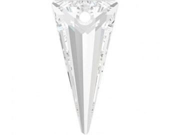 Crystal Spike Pendant   Swarovski Crystal   6480 28mm