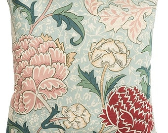 "William Morris Cray Cushion Cover 16"" x 16"" - Sanderson Fabric"