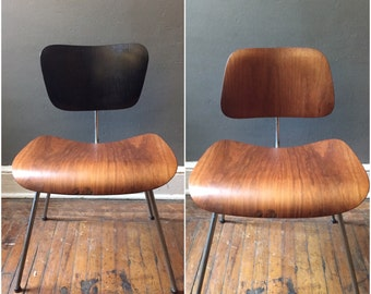 Eames DCM chair mid century modern chair danish modern lounge chair Midcentury modern chair
