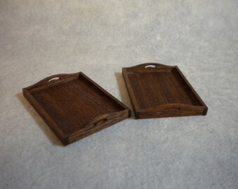 Doll House Serving Trays