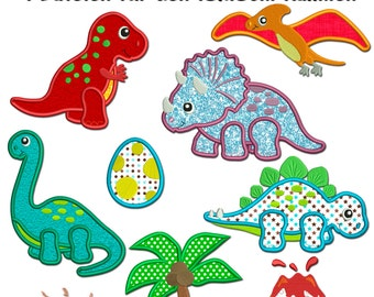 Dino land - motifs for the 13x18cm frame