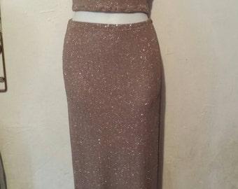 Maxi skirt set