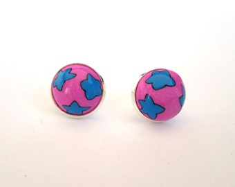 Stud Earrings, Polymer Clay Earrings