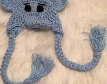 Cozy Little Elephant Hat