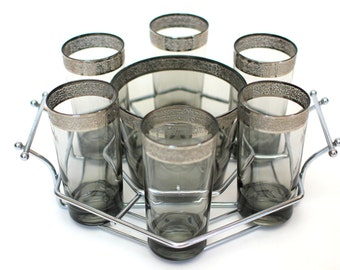 Mid-Century Highball Glasses Set