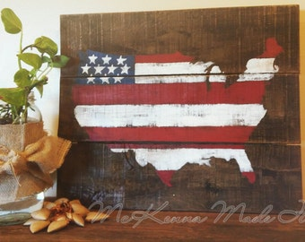americana decor | etsy