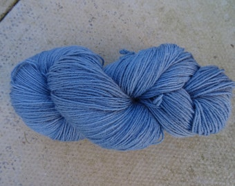CLEARANCE A Nice Grey, hand-dyed wool nylon blend sock yarn