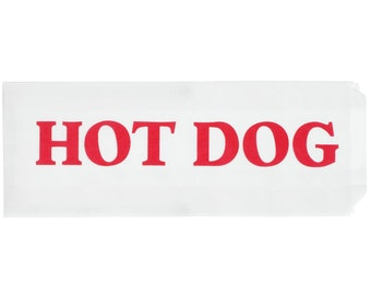 Hot Dog Bags, Hot Dog Wrappers, BabyQ, Wraps, Hot Dog Party Supplies, Hot Dog Bags, BBQ, Pool Party, Wedding, Baby Shower, Birthday Carnival