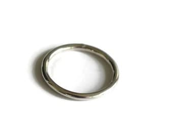Rush sterling round wire