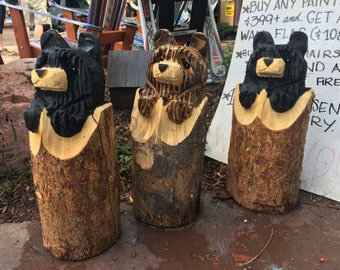 Medium size stump bears