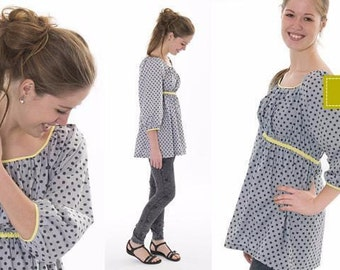Minikrea sewing patterns - ladies tunic 70207