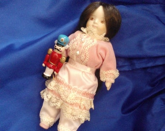 American Girl Pleasant Company Samantha's Doll, Clara...Early Version From Samantha's Holiday Collection...Gorgeous Condition...Retired