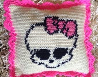 Monster High Skull Pillow
