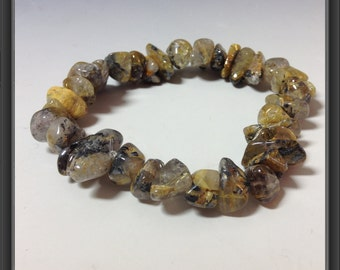Sagenite bracelet