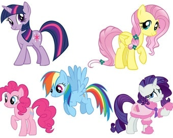 My Little Pony Die Cuts. Scrapbooking, card making,