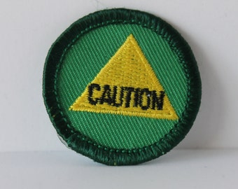 Girl Scout Safety Sense Merit Badge - Caution