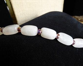 Rose Quart Bracelet