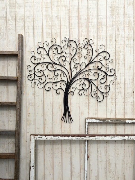 large metal wall art metal wall decor tree wall art metal tree decor - Metal Tree Wall Decor