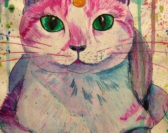 CatiCorn- Cat/ Unicorn-  Unicorn Kitty- SKU#RL-016