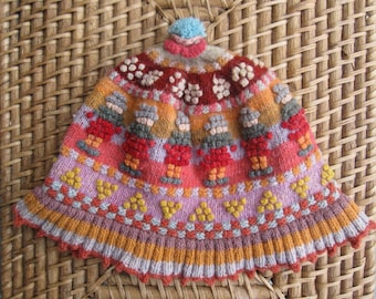 Peruvian Knitted Hat - Size Medium