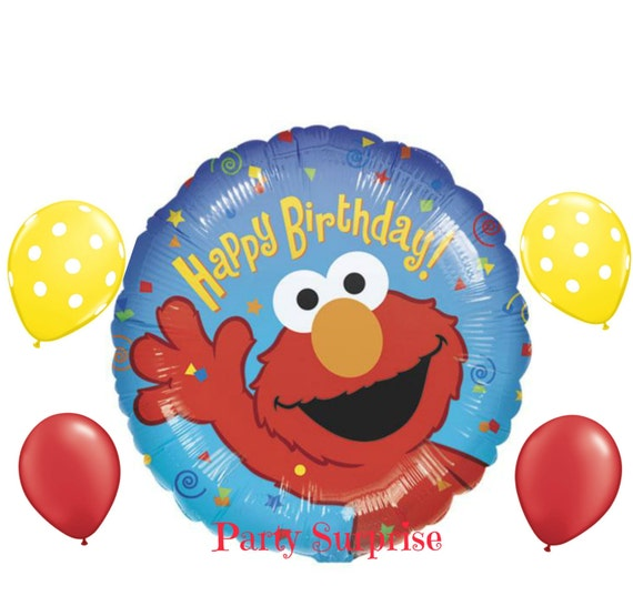 elmo coloring pages birthday balloon - photo#25