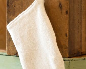 Bath mitt   Washcloth   Organic cotton hemp   French terry