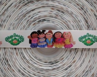 """CABBAGE PATCH 7/8"""" 22mm Grosgrain Hair Bow Craft Ribbon 2822"""