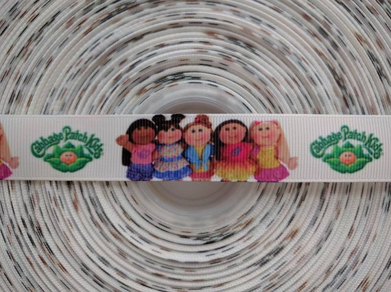 """CABBAGE PATCH 7/8"""" 22mm Grosgrain Hair Bow Craft Ribbon 782822"""