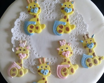 Giraffe Baby Shower, Pink Giraffe, Blue Giraffe, Twins Baby Shower, Baby Shower Favor, Jungle Baby Shower, Giraffe Baby Shower, Baby Shower