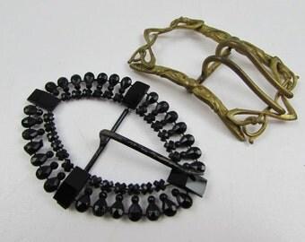 Antique Ladies Belt Buckles