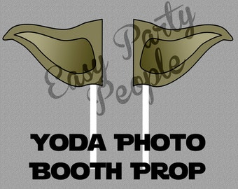 Star Wars Photo Booth Prop, Yoda
