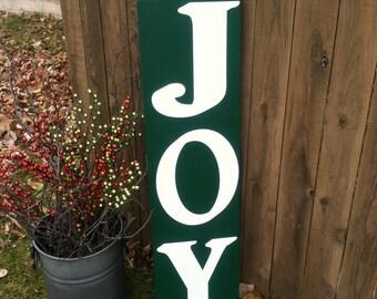 Joy Sign, Christmas Sign, Holiday Sign, Christmas Wall Art, Christmas Joy Sign
