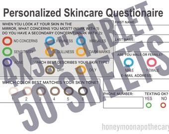 Skincare Questionnaire