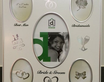 Our Wdding Day Photo Frame 6x8