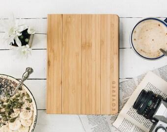 Wood iPad Air Case / Wood iPad Air Folio Case / iPad Air Wooden Case / iPad Air Flip Case / Bamboo / Ultrathin / Gift Idea