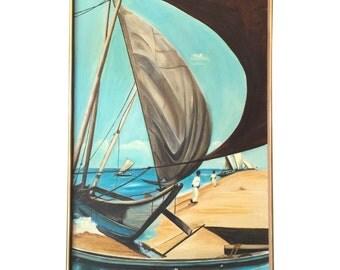 1973 Oil Painting by Walt Walker