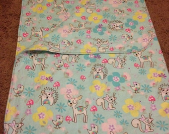 Cute animal blanket