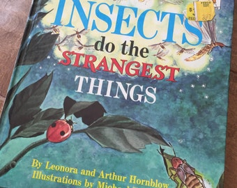 1968 Copy Of  Insects Do The Strangest Things SALE