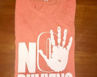 No Bullying Jersey  Tee