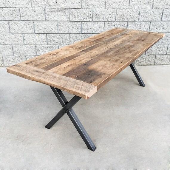 Industrial Style Reclaimed Wood and Steel by WaltonWoodcraft : il570xN933233792268c from www.etsy.com size 570 x 570 jpeg 92kB