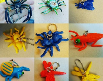 BUGS!! Keychain, lanyard, zipper pull, backpack, gym bag, diaper bag, kids necklace