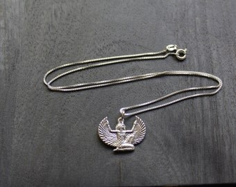 Sterling Silver Isis