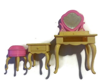Vintage 90's Barbie Bedroom Furniture